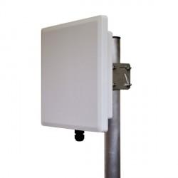 Antenna 5GHz 23dBi con Enclosure in alluminio pressofuso, Kit fissaggio SBC.