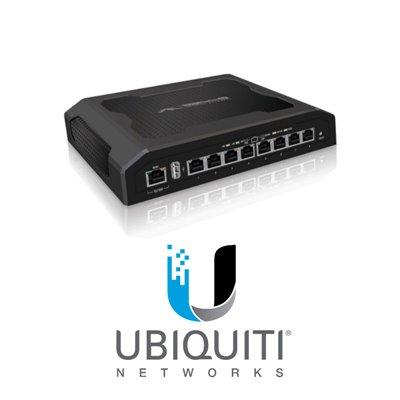 UBNT ToughSwitch PRO, 8x Gigabits POE ports, 24/48V