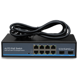 SWITCH GIGA POE 24-48V AUTOSENSING POWER BACKUP 150W