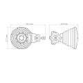 RF Elements Horn 30°