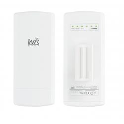 Wisnetworks 5GHz,2*2 MIMO, Weatherproof ABS Plastic, WiD TDMA, 16dBi dual-polapanel, 1*100M Ethernet ,24V Passive PoE,