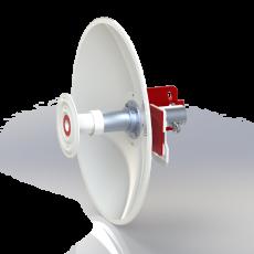 SPR4965-D4G25-LB Solid Dish Dual Pol. antenna 4.9-6.5GHz 40cm 25dBi