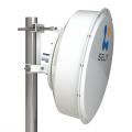 SPR4965-D6G30-SH Solid Dish Shrouded MiMo antenna 4.9-6.5GHz 60cm 30dBi