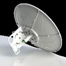 SPR4965-D6G30-LB Solid Dish Dual Pol. Dual Slant assemblable antenna antenna 4.9-6.5GHz 60cm 30dBi