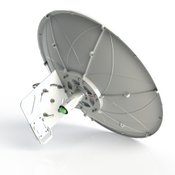 SPR4965-D6G30-SH Solid Dish Shrouded MiMo antenna 4.9-6.5GHz 60cm 30dBi