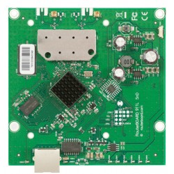 MIKROTIK RouterBOARD RB911-5HnD, 5GHz 802.11 a/n , MiMo 2x2, RouterOS lvl3, 2 x MMCX connectors